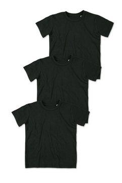 stedman jamie 3-set jamie organic crew neck »in set van 3« zwart