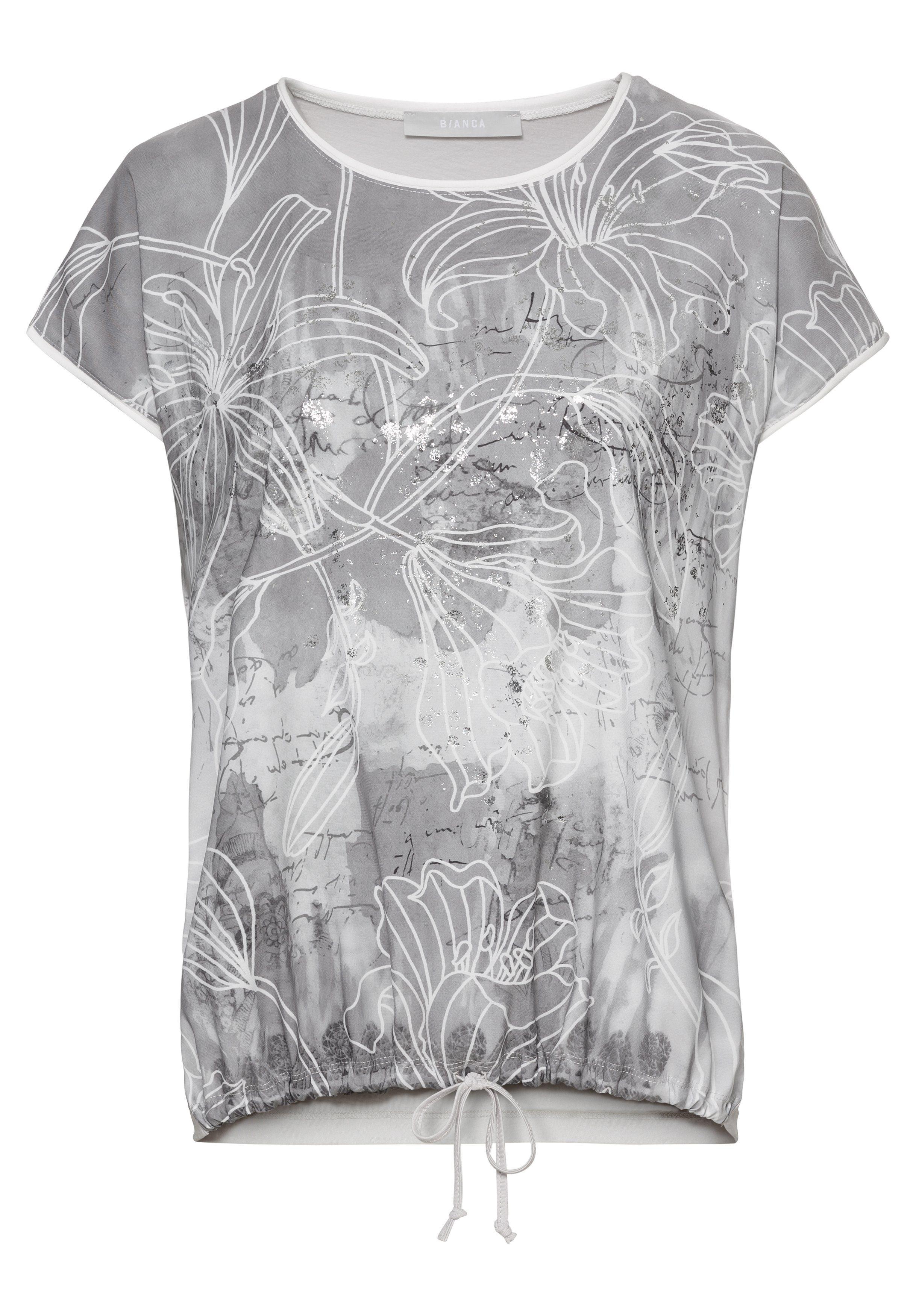 Bianca Shirt Met Print Julie Online Shoppen - Geweldige Prijs