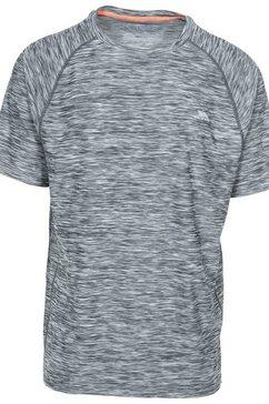 trespass t-shirt »herren gaffney active« blauw