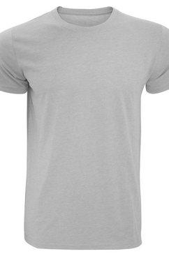 russell t-shirt »herren slim fit , kurzaermlig« zilver