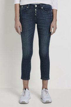 tom tailor slim fit jeans »alexa slim jeans« blauw