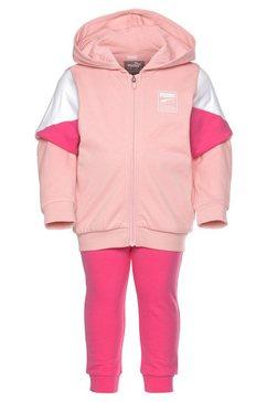 puma joggingpak »minicats rebel jogger« roze