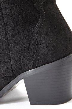 lascana laarzen zwart