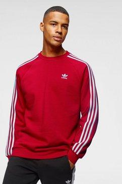 adidas originals sweatshirt »3-stripes crew« rood