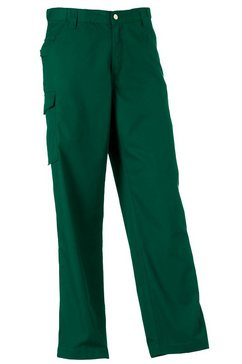 russell functionele broek »workwear polycotton twill hose fuer maenner, standard beinlaenge« groen
