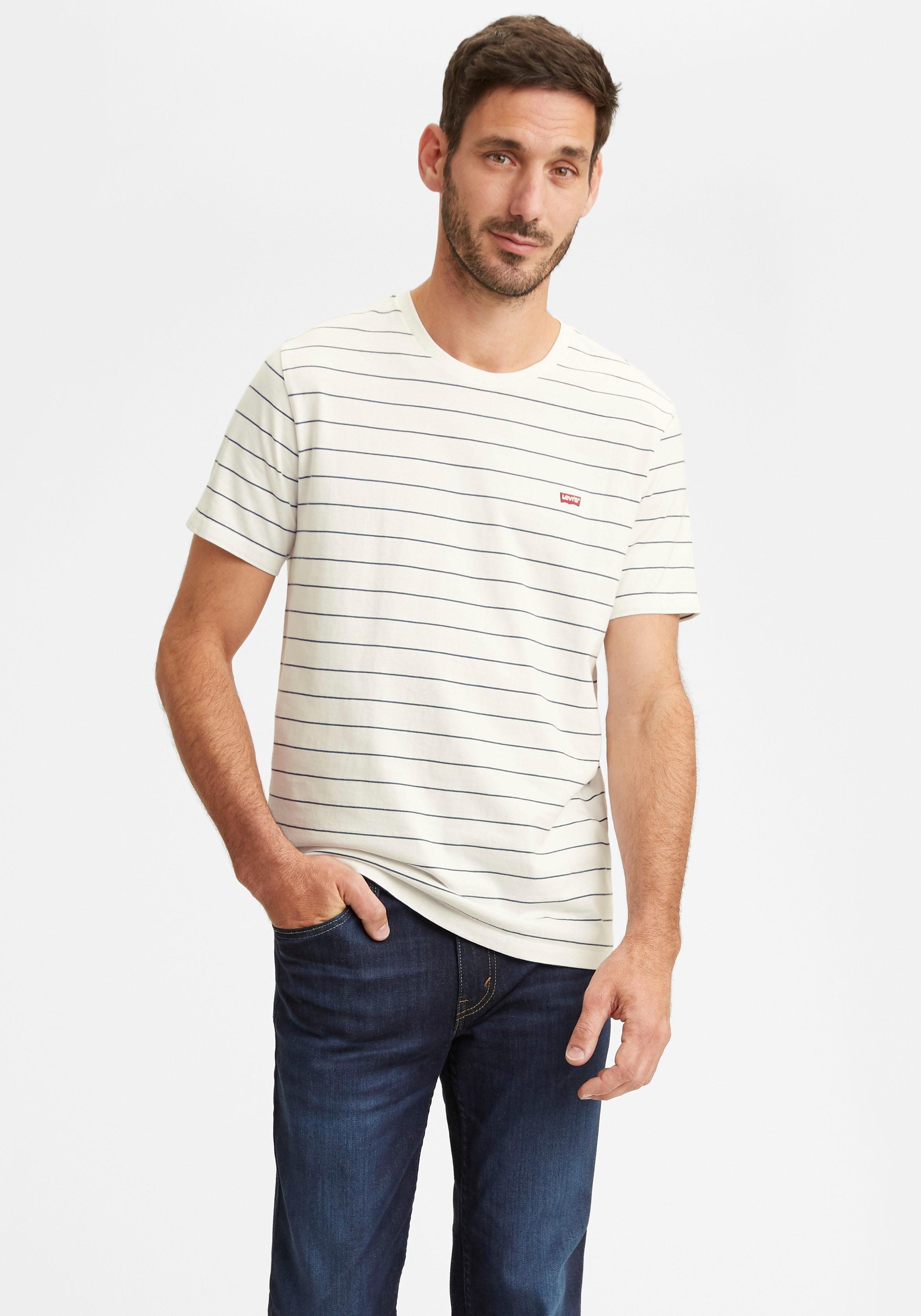 Levi's® T-shirt New Original Hm Crew Vind Je Bij - Geweldige Prijs