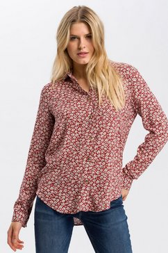 cross jeans overhemdblouse »75188« rood