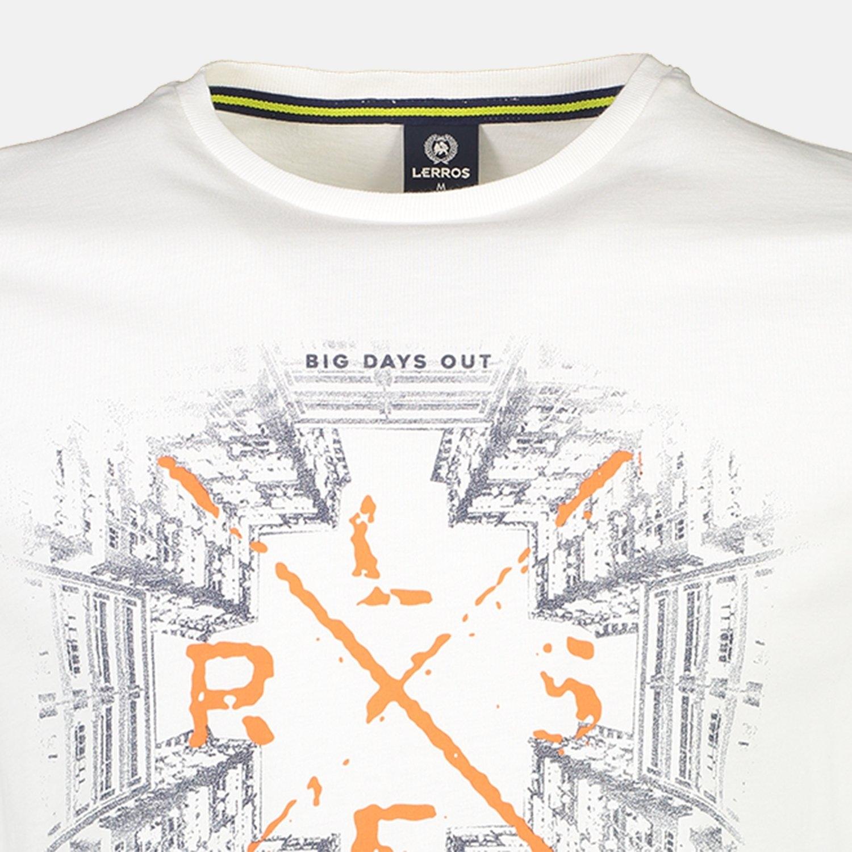Lerros shirt met print - verschillende betaalmethodes
