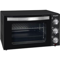 exquisit »mo 3301 sw« mini-oven zwart