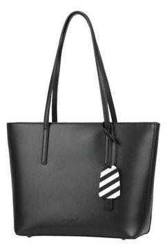 seidenfelt shopper »lyngdal« zwart