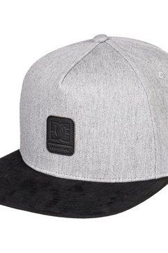 dc shoes snapback cap »brackers« zwart
