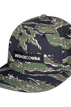 dc shoes snapback cap »smasher« rood