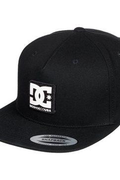 dc shoes snapback cap »snapdripp« zwart