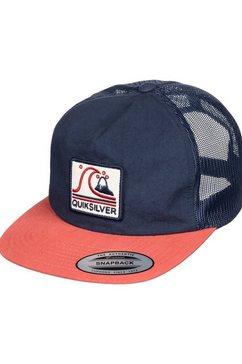 quiksilver snapback cap »brother earth« blauw