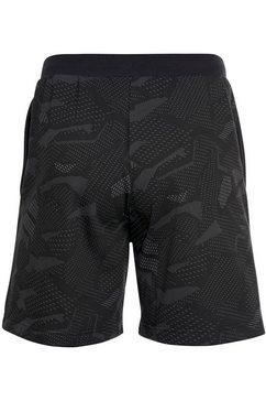 adidas performance sweatshort »m e all over print short« zwart