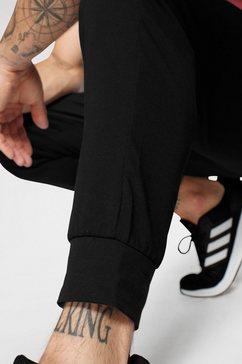 adidas performance joggingbroek »essentials single jersey jogger« zwart