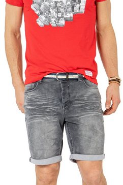 sublevel jeansbermuda grijs