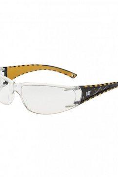 caterpillar zonnebril »cat blaze unisex veiligheidsbril« wit