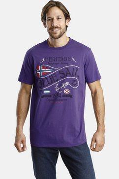 jan vanderstorm t-shirt »perolof« paars
