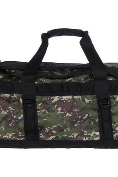 the north face schoudertas »base camp duffel medium« groen