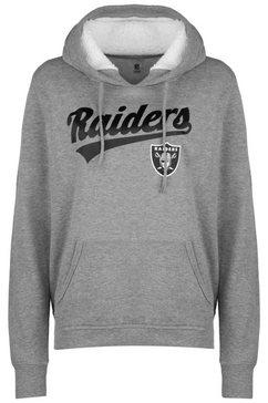 new era hoodie »nfl oakland raiders logo« grijs
