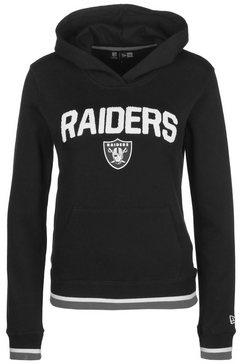 new era hoodie »nfl oakland raiders fleece« zwart