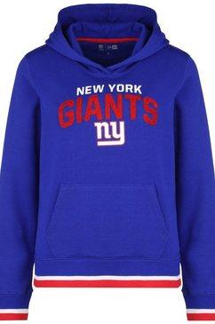 new era hoodie »nfl new york giants fleece« blauw