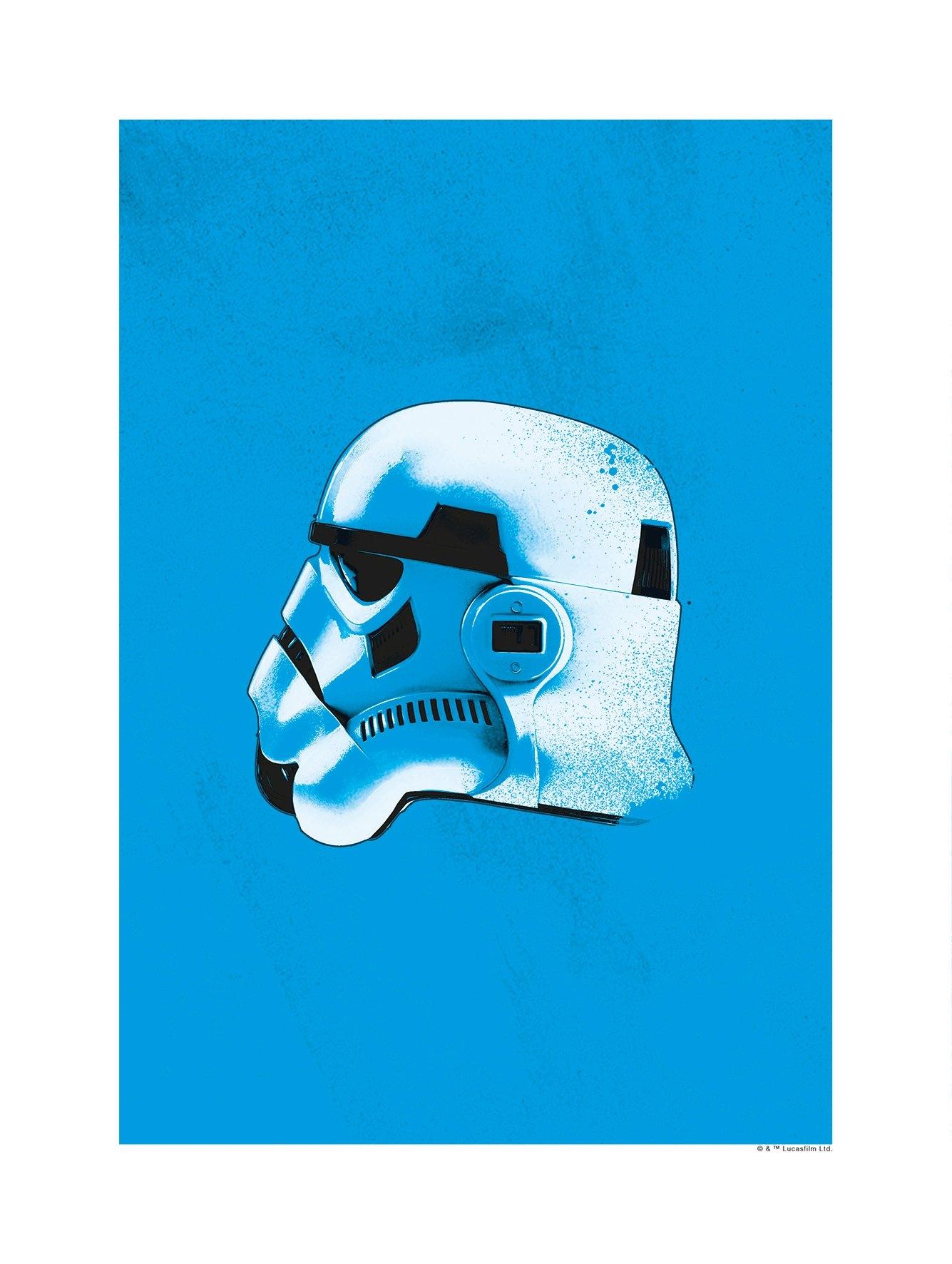Komar wanddecoratie »Star Wars Classic Helmets Stormtrooper«, zonder lijst in de webshop van OTTO kopen