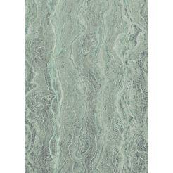 komar fotobehang »marble mint« groen