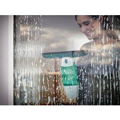leifheit »dry  clean mit stiel und einwascher« raamzuiger groen