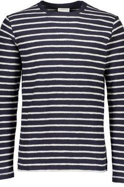 lindbergh shirt met lange mouwen grijs