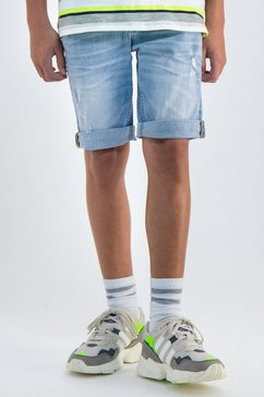 garcia shorts blauw