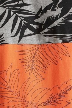 esprit shirt met ronde hals oranje