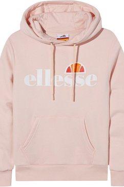 ellesse hoodie »isoble junior« roze