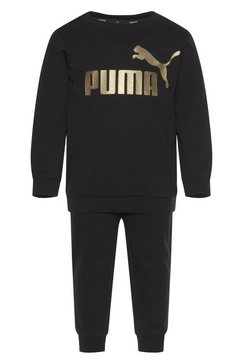 puma joggingpak »minicats ess crew jogger« zwart