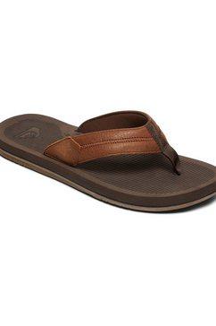 quiksilver sandalen »coastal oasis deluxe« bruin