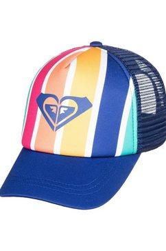 roxy trucker-cap »sweet emotions« blauw
