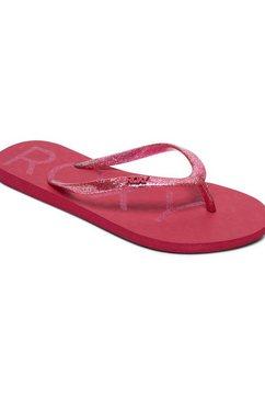 roxy sandalen »viva sparkle« rood