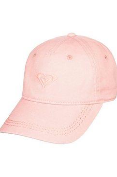 roxy baseballcap »dear believer« roze