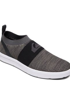 quiksilver slip-on sneakers »amphibian plus« grijs