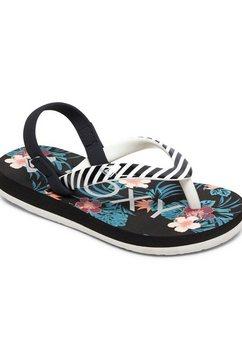 roxy sandalen »tw pebbles vi« zwart