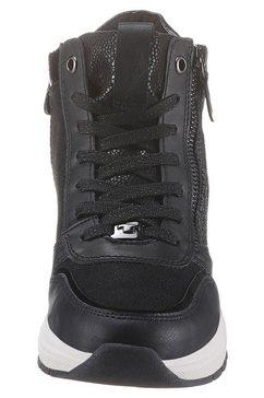 tom tailor sneakers met sleehak zwart