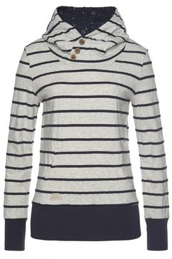 ragwear sweatshirt »chelsea« blauw