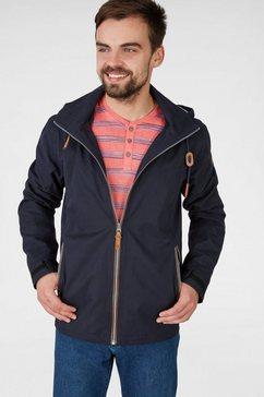 navigazione zeer gedetailleerde jas van zacht materiaal blauw
