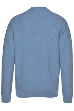 lacoste trui met ronde hals blauw