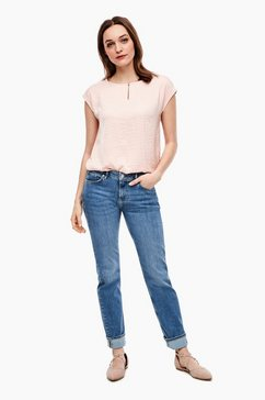 s.oliver stretchjeans blauw