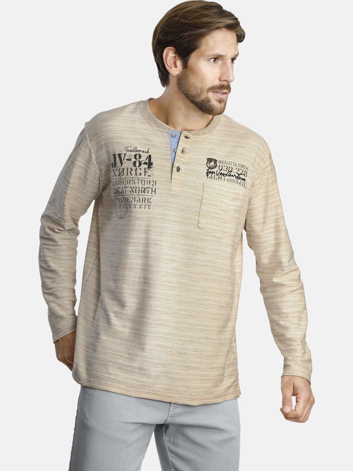 Jan Vanderstorm shirt met lange mouwen »RYOLF« in de webshop van OTTO kopen