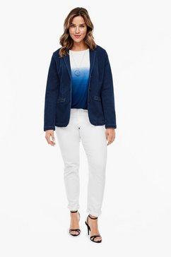triangle jeansblazer blauw