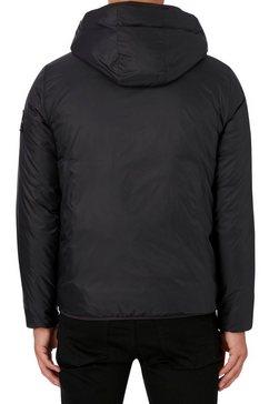 calvin klein gewatteerde jas »logo padded jacket« zwart