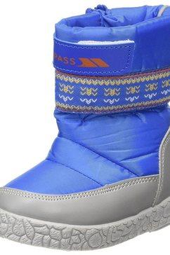 trespass winterlaarzen »kinder jungen alfred schneestiefel -« blauw